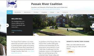 passaic river Coalition screenshot